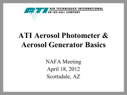 ATI - Hands on Workshop