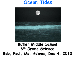 What causes tides ppt high and low tides sciox Image collections
