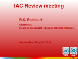 PowerPoint - InterAcademy Council | Review of the IPCC