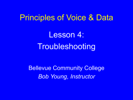 Lesson 4: Troubleshooting