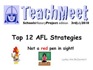 Top 10 AFL Strategies