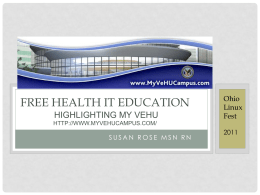 Free Medical IT Education