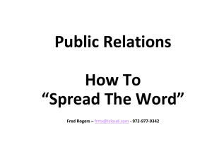 What is Public Relations? - The American Legion