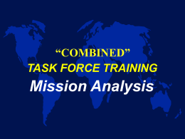 Mission Analysis - APAN Community SharePoint