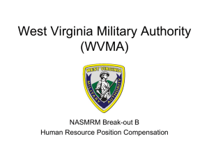 West Virginia Military Authority (WVMA)