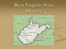 West Virginia State History