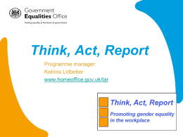 GEO Presentation from the Event - Employers network for equality