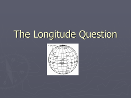Longitude Question