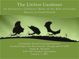 The Littlest Gardener - Princeton University