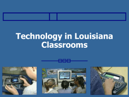 25 slides - Texas Center for Educational Technology