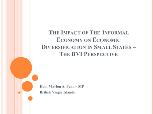 The Impact of The Informal Economy on Economic Diversification in
