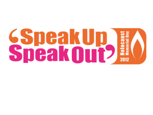 SPEAK UP… SPEAK OUT! - NDS