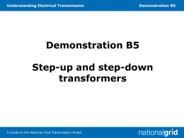 B5 Step-up and step