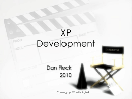 Agile and XP Development