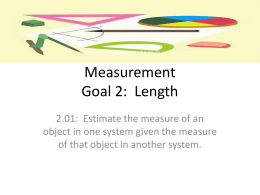 Measurement-Length