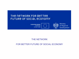 Socially responsible public procurement & public-social