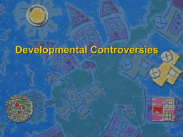 Controversies and Issues - University of Puget Sound