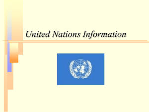 PowerPoint - United Nations