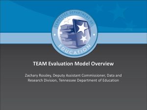 TEAM Evaluator Training