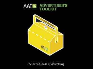Clarity? - Association of Advertisers in Ireland