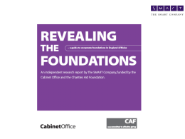A Guide to Corporate Foundations