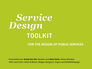 Service Design Toolkit