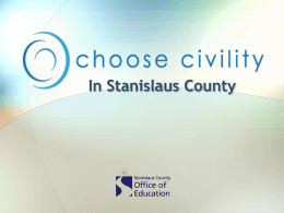 Be the Change…Choose Civility