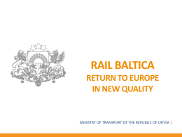 Establishment of Joint Venture «RB Rail