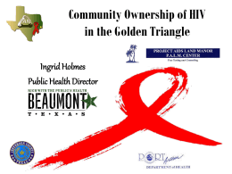 HIV Statistics for Jefferson County