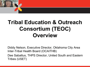 Tribal Education & Outreach Consortium (TEOC)