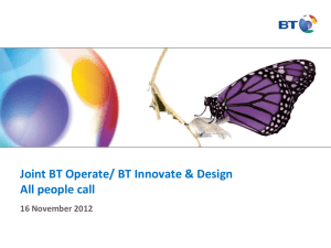 BT Technology, Service and Operations
