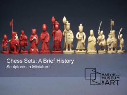 Sculptures in Miniature The Chess Set Collection