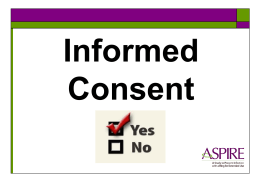 25: Informed Consent for Counselors