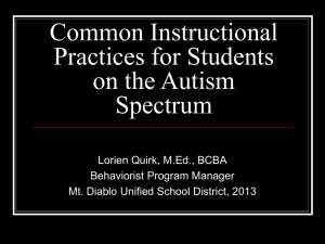 Common Instructional Practice PowerPoint