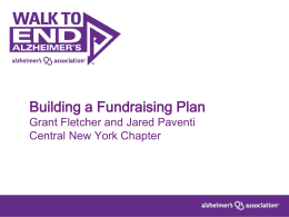 Building a Fundraising Plan