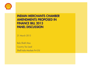 Shell India - Indian Merchant Chamber
