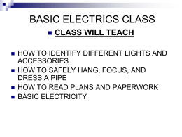 LOCAL 19 BASIC ELECTRICS CLASS