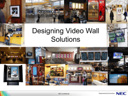 Video Wall - Tech Data