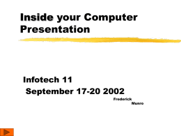 Inside your Computer Presentation
