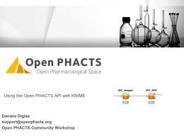 OPS-Knime nodes - Open PHACTS Foundation