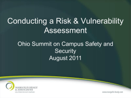 Conducting a Risk & Vulnerability Assessment