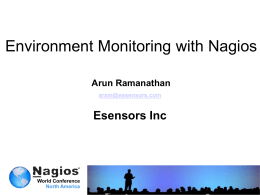 Environment Monitoring 2011 4 Partial List of Sensor