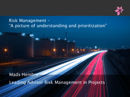 Aggregation of Risk Management