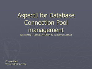 Using of AspectJ for Resource Pool management