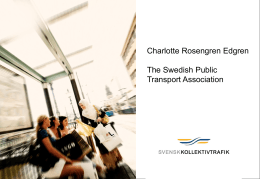 The Swedish Public Transport Association