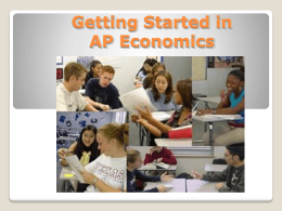 Getting Started in Macroeconomics