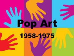 Art history powerpoint project artist list pop art powerpoint toneelgroepblik Choice Image
