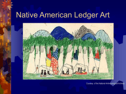 Native American Ledger Art - Butte School District # 1