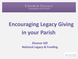 legacy - The Diocese of Peterborough