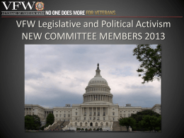 Legislative and Political Activism